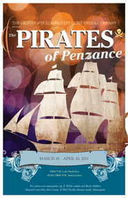 The Pirates of Penzance Show Poster